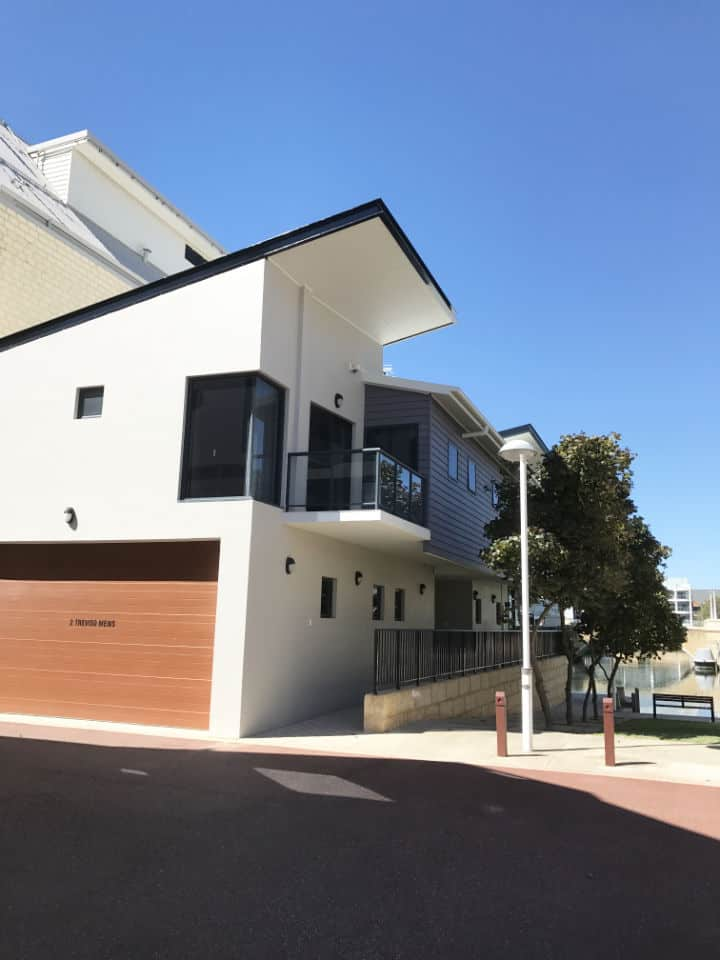 Residential Exterior Seascapes Painting Mandurah